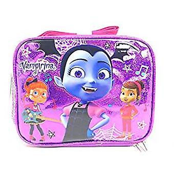 Lunch Bag - Disney - Vampirina - Purple Shiny w/Friends 006006