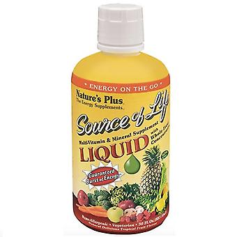 Nature's Plus Source Of Life Liquid 887ml (30601)