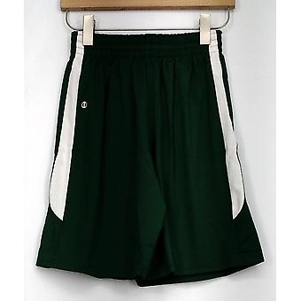 Holloway Shorts Evergreen Athletic Green / White Womens