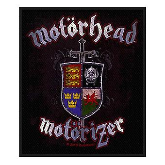 Motorhead Patch Motorizer band logo Official New woven 10cm x 8cm