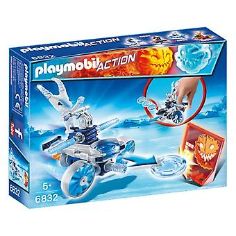 Playmobil Frosty mit Disc Shooter 6832