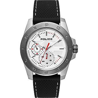 Politi Herre Gents Peckham quartz armbåndsur 15527JSTU/04P