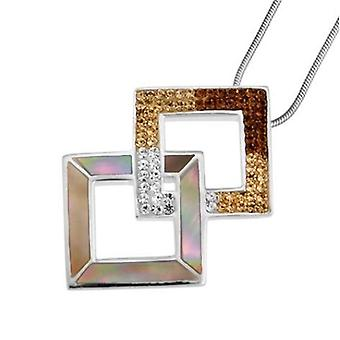 Oliver Weber 7548 BRO-kvinnors halsband-silver