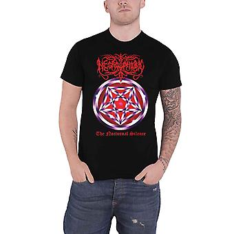 Necrophobic T Shirt The Nocturnal Silence Band Logo new Official Mens Black