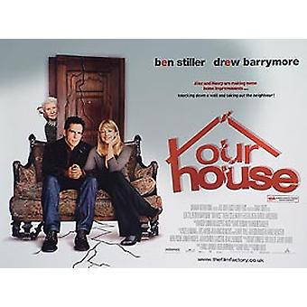 Our House (Double Sided) Original Cinema Poster