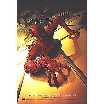 Spiderman (Advance) (Uv Coated High Gloss) (2002) Original Cinema Poster