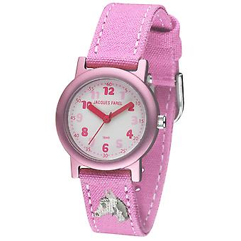 JACQUES FAREL Eco Kids Wristwatch Analog Quartz Girl ORG 8821 Horse