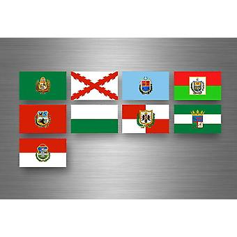 Sticker Sticker Sticker Labels Flags Region Province States Bolivia