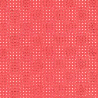 Polka Dot Wallpaper - Red and White - Rasch 442311