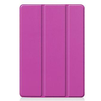 Măr iPad 10,2 2 2019 Slim Fit Tri-ori caz-Purple