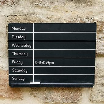 Sass & Belle Weekly Planner Chalk Board | Gifts From Handpicked
