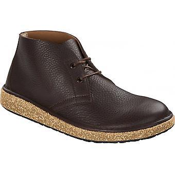 Birkenstock Milton Boot 1014996 Leather Espresso REGULAR