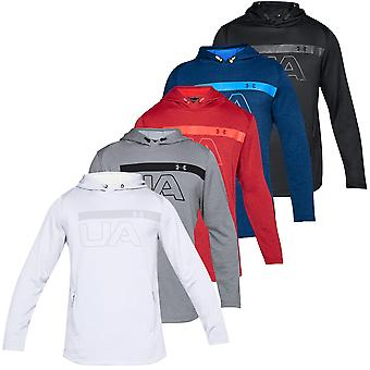 Under Armour Mens Tech Terry PO Graphic Hoodie