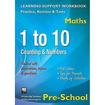 1 to 10, Counting & Numbers, Pre-School (Maths): Home Learning, Support for the Curriculum (Home Learning Maths...