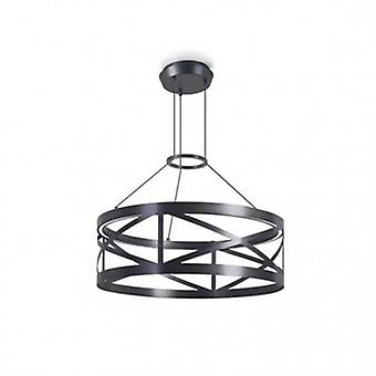 LED runda tak hängande ljus svart