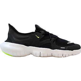 Nike Free RN 5.0 Schwarz/Weiß-Anthrazit-Volt AQ1289-003 Männer's