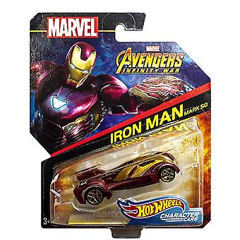 Marvel Avengers, Hot Wheels - Iron Man