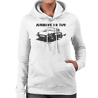 TVR Arrive In Retro M Series Women's Hooded Sweatshirt