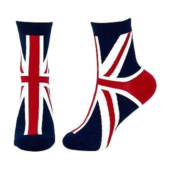 Union Jack Crew Socks
