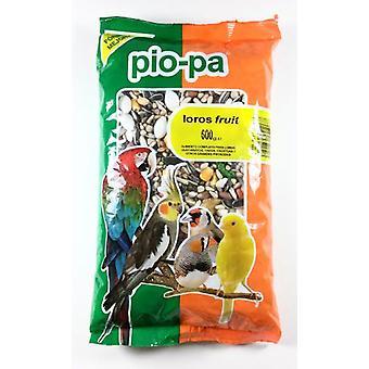 Pio-Pa Parrots Fruit 600 G. (Birds , Bird Food)