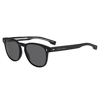 Hugo Boss 0927/S 003/IR Matte Black/Grey-Blue Sunglasses