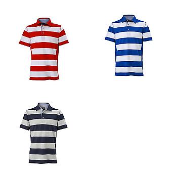 James and Nicholson Mens Polo Maritime