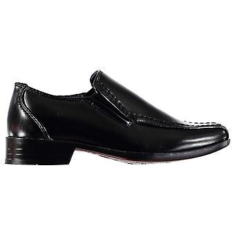 Giorgio Kids Bourne Slip On Boys Shoes Formal Classic Design Slight Heel