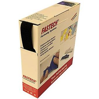 FASTECH® B25-OMNI-999910 Hook-and-loop tape sew-on, for bundling Hook and loop pad (L x W) 10 m x 25 mm Black 10 m