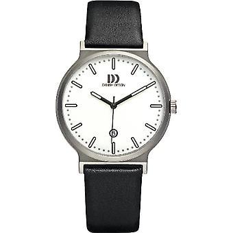 Danish Design DZ120167-wrist watch, man, skin, colour: black