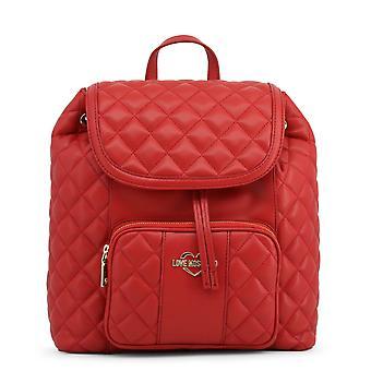 Love Moschino Original Women Fall/Winter Backpack/Rucksack - Red Color 32005