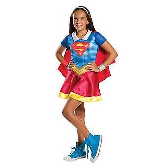 Dc Superheld Mädchen Supergirl Kostüm