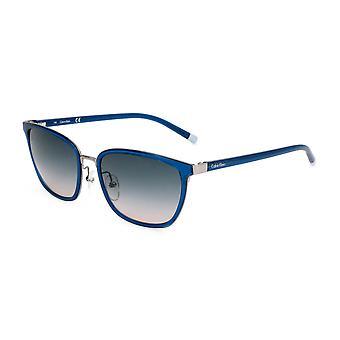 Calvin Klein Original Mujeres Gafas de Sol Primavera/Verano - Color Azul 55497
