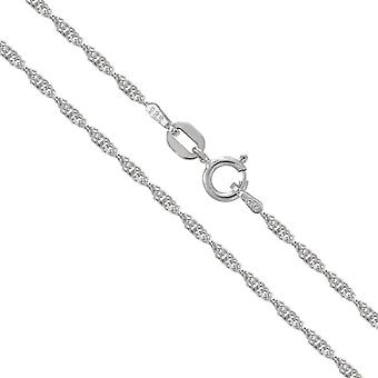 """TOC Sterling Silver 26"""" Singapore Fancy Hanging Chain Necklace CL4855"""