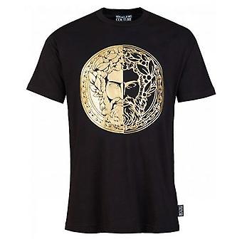 Versace Jeans Couture Slim Fit Foil Head Logo T-Shirt