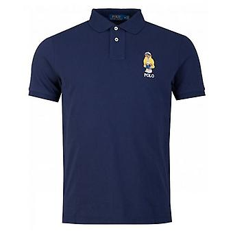 Polo Ralph Lauren Custom Slim Fit Bear Polo