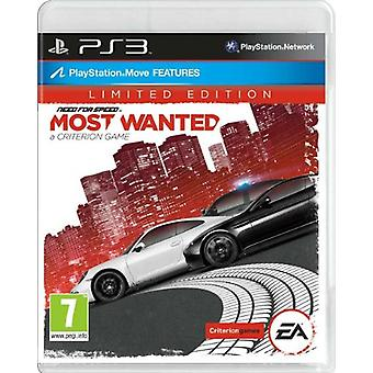 Need for Speed mest eftersøgt-Limited Edition (PS3)-ny