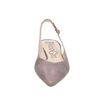 Paco Gil P-2669 Women's Ballerinas Grey Slippers Espadrilles Loafer