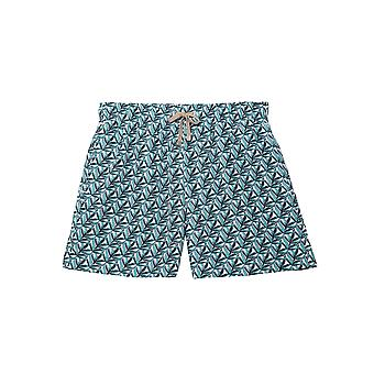 Benibeca Men's Safari Printed Swim Shorts