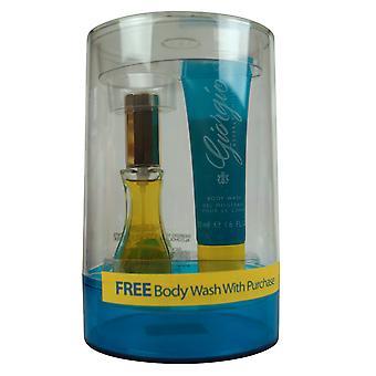 Giorgio Beverly Hills 2 pc Set Giorgio EDT 1 oz & 1.6 oz Body Wash