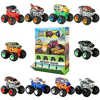 20-Pack Hot Wheels Monster Trucks Minis With Key & Stickers 4cm