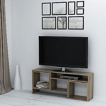 Mobile TV port Kasa Color Walnut in Melaminic Chip, L141xP29.5xA57cm