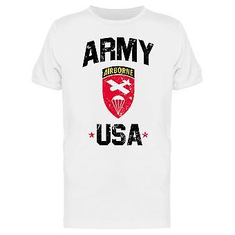 Usa Army Airborne Men's T-shirt