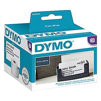 Dymo Lw 51 mm X 89 mm Blanc