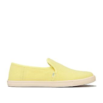 Women's Toms Clemente Slip-On Pumps in Yellow