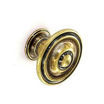 Securit Antique Cupboard Knobs (Pack Of 2)