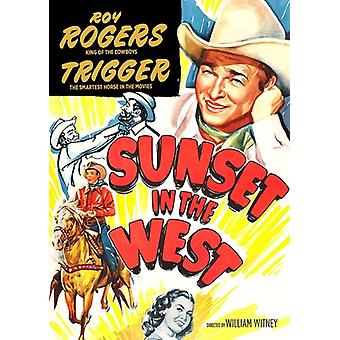 Sunset in the West (1950) [DVD] USA import