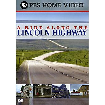 Ride Along the Lincoln Highway [DVD] USA import