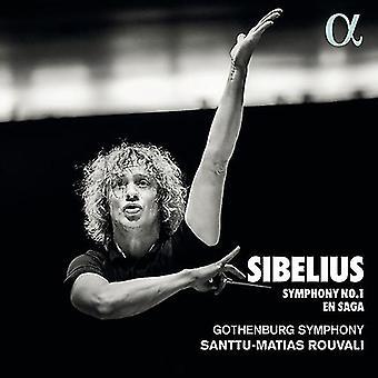 Symphony 1 / En Saga [CD] USA import