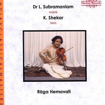 Subramaniam/Hasse - Raga Hemavati [CD] USA import