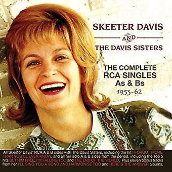 Skeeter Davis - Davis Skeeter-komplett Rcasingles som [DVD] USA import